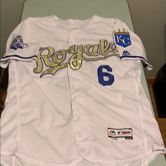 big sale 494db 1d3b1 Kansas City Royals Lorenzo Cain Jersey